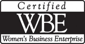Certified WBE, Women's Business Enterprise